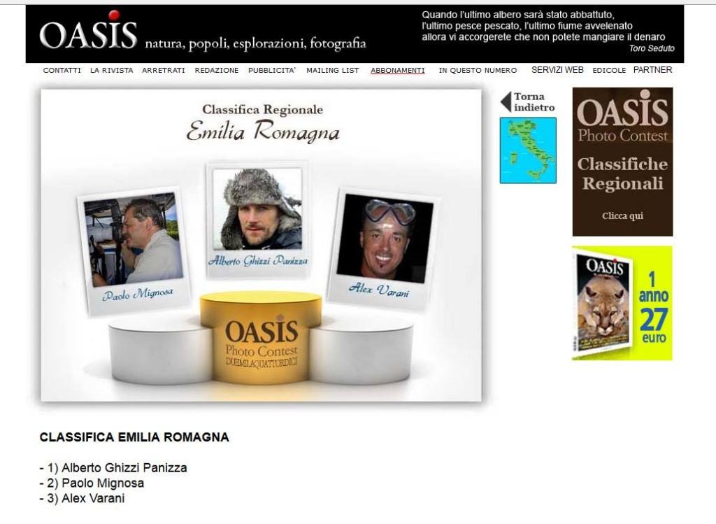 Oasis 2014 Emilia